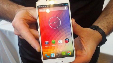 Samsung Galaxy S4 Google Edition ilk etapta ABD'de
