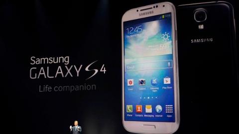 Samsung Galaxy S4 ilk satış rakamları