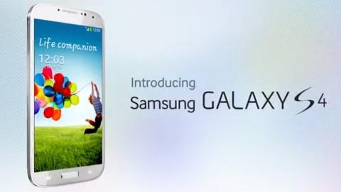 Samsung Galaxy S4 reklam videosu