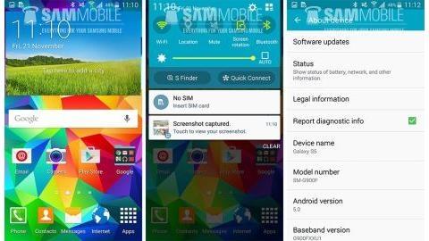 Galaxy S5 için Android 5.0 Lollipop güncellemesi dağıtılmaya başladı