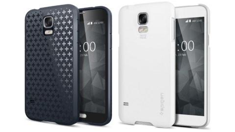 Galaxy S5 ve Galaxy S5 Prime kılıfları, ilk görüntüleri sızdı