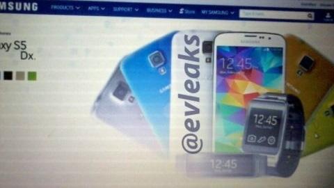 Samsung Galaxy S5 mini ilk kez görüntülendi