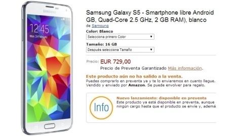 Galaxy s5 için ön sipariş alımı başladı