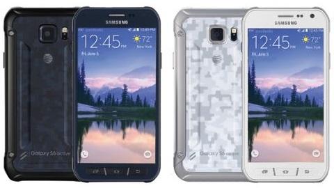 Su ve toza dayanıklı Galaxy S6 Active'den ilk basın görüntüleri