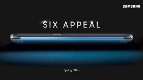 Samsung Galaxy S6 Edge'den ilk resmi görüntüler