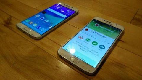 Kavisli ekrana sahip Galaxy S6 Edge ilk kez görüntülendi