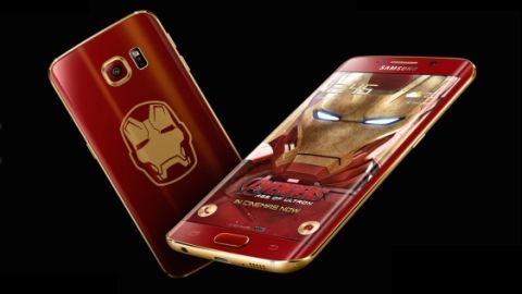 1100 dolarlık Galaxy S6 edge Iron Man Edition resmen duyuruldu