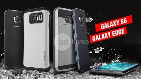 Galaxy S6 ve Galaxy S Edge'den yeni kılıf görselleri