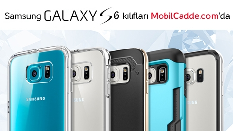 Samsung Galaxy S6 Kılıfları MobilCadde.com'da