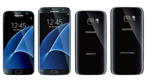 Galaxy S7 ve S7 edge'nin arka kısmına ait basın görüntüleri sızdı