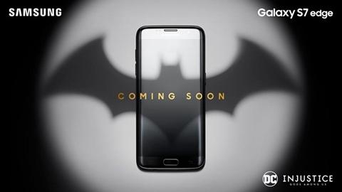 Galaxy S7 edge Batman özel sürümü geliyor