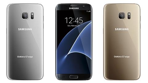 Galaxy S7 ve S7 edge'nin tüm renk seçenekleri görüntülendi