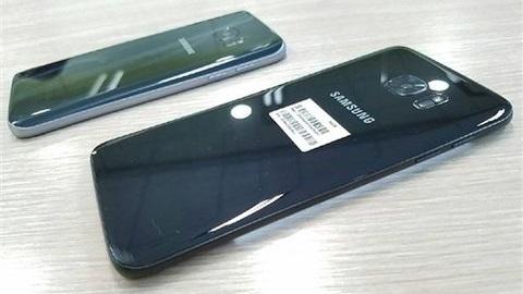Parlak siyah Galaxy S7 edge görüntülendi