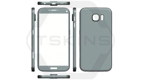 Samsung Galaxy S7 ve S7 Plus'tan ilk şematik görüntüleri