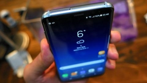Galaxy S8'in Super AMOLED ekranı DisplayMate'den tam not aldı