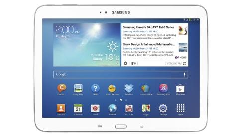 Samsung Galaxy Tab 3 10.1 modeli resmiyet kazandı