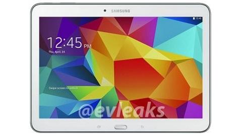 Samsung Galaxy Tab 4 10.1 internete sızdı