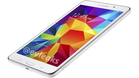 Samsung Galaxy Tab 4 7.0'a ait ilk görüntüler sızdı