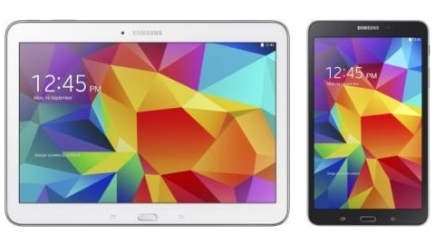 Samsung Galaxy Tab 4 serisi orta seviye tabletler resmiyet kazandı