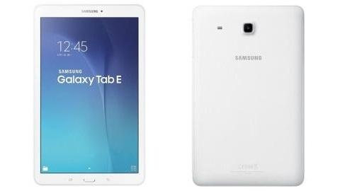 Samsung Galaxy Tab E tanıtıldı