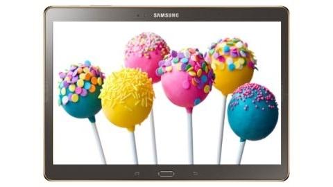 Samsung Galaxy Tab S için Android 5.0 Lollipop güncelleme tarihi