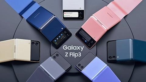 Samsung Galaxy Z Flip 3 Tanıtıldı!