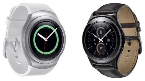 Yuvarlak ekranlı Samsung Gear S2 ve S2 Classic saatler duyuruldu
