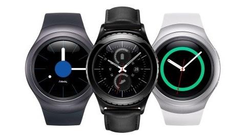 Samsung'un yuvarlak ekranlı saati Gear S2 Türkiye'ye geliyor