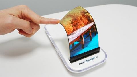 Samsung, yeni nesil katlanabilir AMOLED ekranını sergiledi