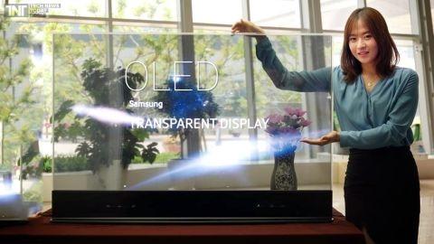 Samsung, saydam OLED ekran üretimine başlıyor