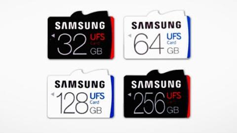 530 MB/s okuma hızına sahip Samsung UFS hafıza kartları duyuruldu
