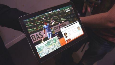 4K Ultra HD çözünürlüklü Samsung tablet prototipi görüntülendi