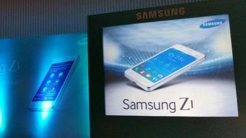 Tizen işletim sistemi Samsung Z1 özellikleri ve tanıtım görüntüleri