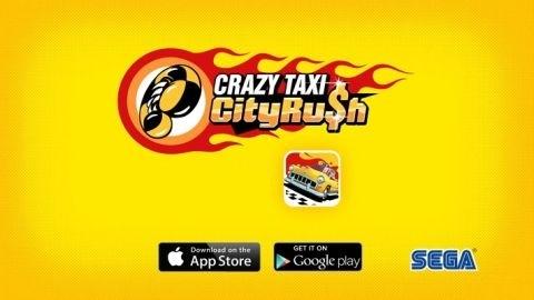 Crazy Taxi: City Rush oyunu iOS için indirmeye sunuldu