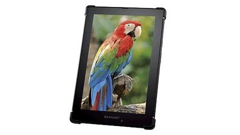 IGZO TFT MEMS ekran teknolojisine sahip Sharp tablet duyuruldu