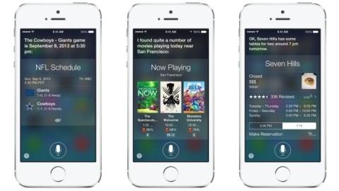 Siri, iOS 7 ile birlikte beta sürecini geride bırakıyor