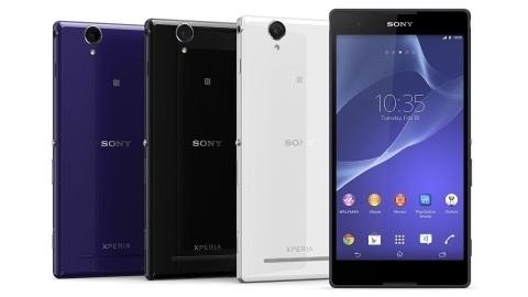 Sony'den 6 inçlik orta düzey telefon-tablet melezi: Xperia T2 Ultra