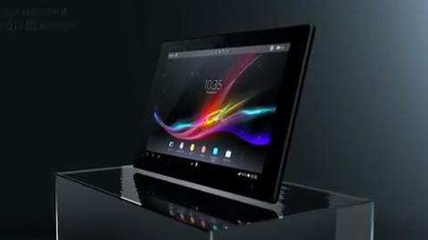 Sony Xperia Tablet Z yetenekleri ve tasarımı