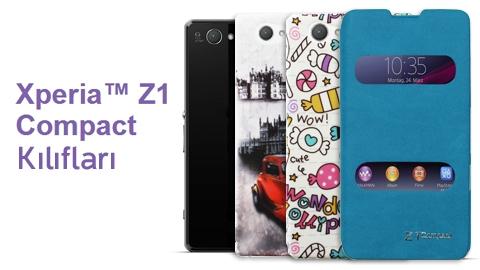Sony Xperia Z1 Compact Kılıfları MobilCadde.com'da