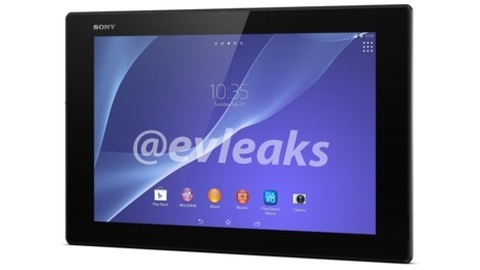 Sony Xperia Z2 tablet bilgisayarın birçok detayı ortaya çıktı
