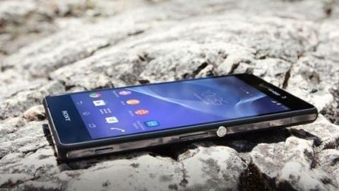 Sony Xperia Z2 düşürme testi