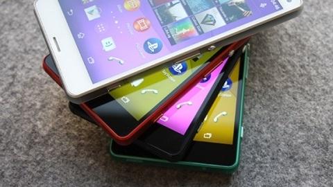 Sony Xperia Z3 Compact'ın dört farklı renk seçeneği görüntülendi