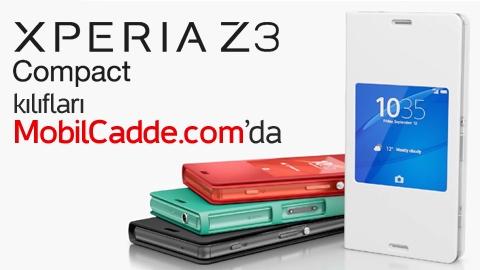 Sony Xperia Z3 Compact Kılıf ve Aksesuarları MobilCadde.com'da