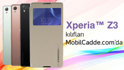 Sony Xperia Z3 Kılıfları MobilCadde.com'da