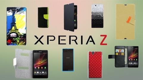 Sony Xperia Z'ye özel 10 farklı kılıf