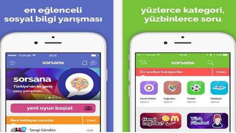 Sorsana iOS Uygulaması