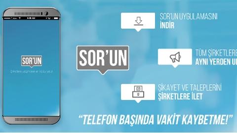 SOR'UN Android Uygulaması
