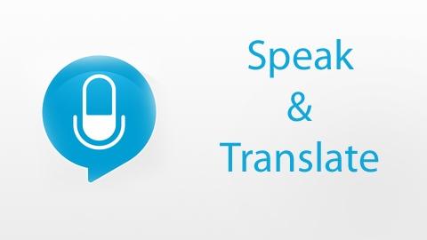 Speak&Translate Uygulaması