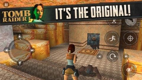 Tomb Raider serisinin ilk oyunu iOS platformu için satışta