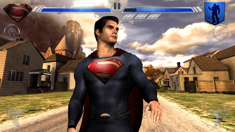 Superman Man Of Steel iPhone oyunu App Store'da yerini aldı